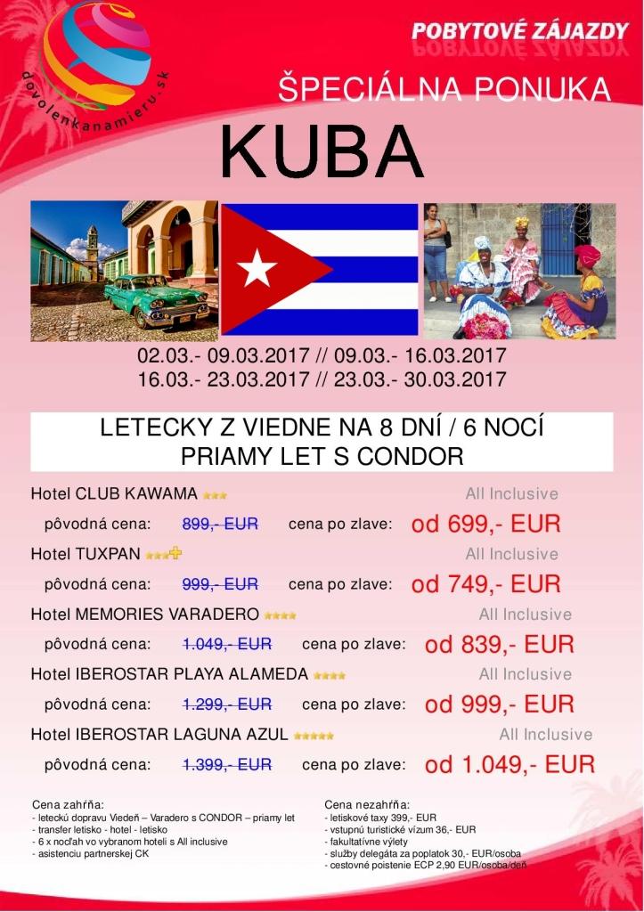 Kuba z Viedne - Marec 2017_priamy let1